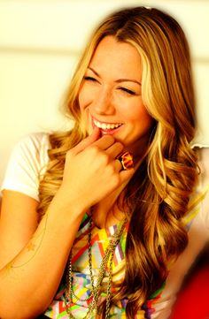 Aspire to have pretty hair like Colbie Caillat
