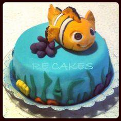 Bolo Nemo Pasta Americana Nemo Cake