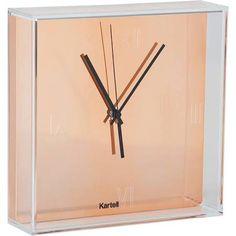 Copper desk clock