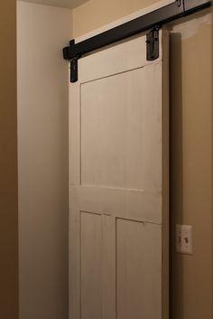 Diy Ikea Hack Use Pax Wardrobe Door As A Sliding Door