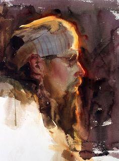 Daniel Gerhartz watercolor