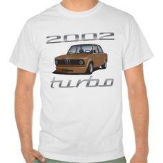 Bmw T-Shirts & Shirt Designs Bmw 2002 Turbo, Automobile, Shirt Designs, Car, Mens Tops, T Shirt, Style, Orange, Grey