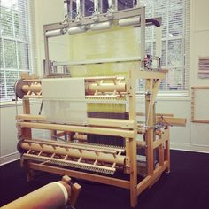 This jacquard loom is at SCAD