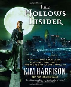 All of Kim Harrison's books! Just read 'The Hollows' Book 1,book 2 on it's way.