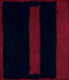 Mark Rothko, Black on Maroon, 1959