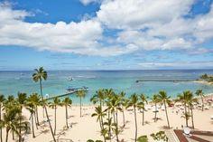 Hilton Hawaiian Village Waikiki Beach Resort, HI - Alii Tower Ocean Front View Hawaii Resorts, Beach Resorts, Hotels And Resorts, Hilton Hawaiian Village Waikiki, Waikiki Beach, Honolulu Zoo, Oahu, Queen Kapiolani Hotel, Top 10 Hotels