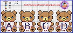 A Beleza Do Ponto Cruz: Monograma / Alphabet