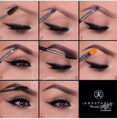 Get the best makeup tutorials from the web. These DIY tutorials include makeup tips for face makeup, eye makeup, eyebrows, lipstick, and beauty basics! How To Shape Eyebrows For Beginners, Eyebrow Tutorial For Beginners, How To Do Eyebrows, Perfect Eyebrows, Best Eyebrows, Faded Eyebrows, Natural Eyebrows, Natural Eye Makeup, Eye Makeup Tips