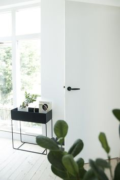 Via April and May | Ferm Living Plant Stand | Black and White