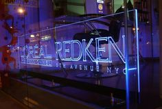 LED/Fiber Optic lit sign led sign generator