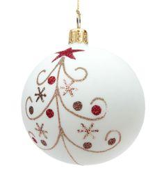 Handpainted Christmas Ornaments, Christmas Ornament Crafts, Christmas Baubles, Handmade Christmas, Christmas Holidays, Christmas Crafts, Painted Ornaments, Christmas Mandala, Homemade Christmas Decorations