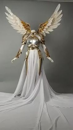 Valkyrie Rider by Fairytas on DeviantArt Usa National Costume, Trajes Drag Queen, Steampunk Fairy, Elf Clothes, Female Armor, Cosplay Armor, Beautiful Costumes, Female Character Design, Fantasy Costumes