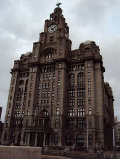 One of my top 5 favorite cities in the world, Liverpool, England.