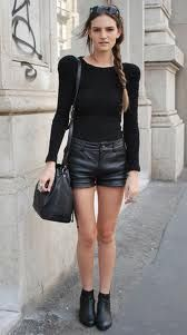 Women leather short is perfect looking outfit for showing your sensuous and sexy look. http://www.leathernxg.com/23-womens-leather-shorts