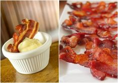 Aprenda a fazer uma deliciosa maionese de bacon! É de dar água na boca!!