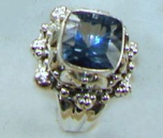 Blue Mystic Topaz Sterling Silver Ring Women's Jewelry, Womens Jewelry Rings, Gemstone Jewelry, Sea Colour, Color, Mystic Topaz, Topaz Ring, Princess Cut, Absolutely Gorgeous
