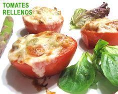 tomates rellenos de verduras y queso*
