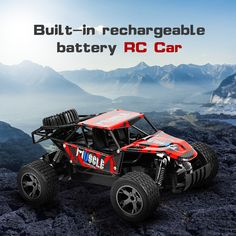 High Spped RC Cars 2.4GHz 1:18 RC Car RTR Shock Absorber PVC Shell Off-road Race Vehicle Buggy Electronic Remote Control Car Toy  Price: 34.00 & FREE Shipping #computers #shopping #electronics #home #garden #LED #mobiles #rc #security #toys #bargain #coolstuff |#headphones #bluetooth #gifts #xmas #happybirthday #fun Remote Control Cars, Radio Control, Rubber Tires, Road Racing, Rc Cars, Offroad, Monster Trucks, Shell, Vehicles