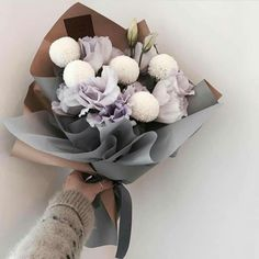 Birthday bouquet for daughter Amazing Flowers, My Flower, Dried Flowers, Beautiful Flowers, Lotus Flower, Flower Crown, Plants Quotes, How To Wrap Flowers, Design Floral