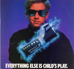 NES Powerglove. NOW you're playing with POWER! This thing was so cheesy and terrible. lol