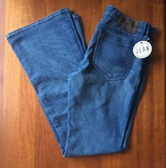NWOT Chip & Pepper Womens Sz 30 Walk of Shame Flare Jeans Blue Jeans 1A #ChipPepper #WalkofShameFlare