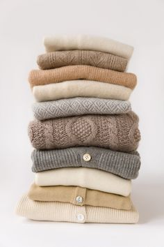 Neutrals - Happy to see someone else enjoys having multiple sweaters of the same colors.