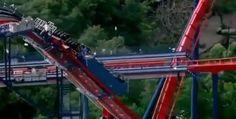 Se atasca montaña rusa en Virginia; rescatan a los pasajeros