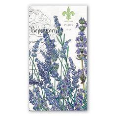 Michel Design Kitchen Dining Lavender Rosemary Hostess Napkins Set of 15 NAPH81R #MichelDesignWorks #Anytime