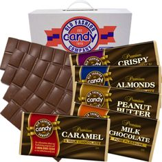 Large Chocolate Lover's Bar - Large chocolate candy fundraisers. Earn 50% profit and prize points!