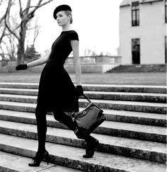 chic in black