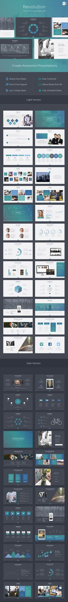 Revolution - Creative Powerpoint Template - PowerPoint Templates Presentation…