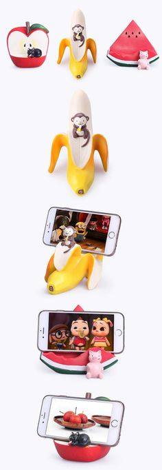 Fruit Style  Mobile Phone iPad Holder Stand