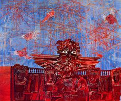 City of Dreadful Night, Ben Shahn Ben Shahn, Illustration, Paintings, Night, Art, Paint, Art Background, Illustrations, Painting Art