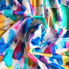 Cotton Lawn - Artisan Splash