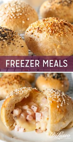 Busy weeks call for fast meals like these. Just pop into the oven or microwave for a few minutes and serve. Get the recipes here! Microwave Freezer Meals, Individual Freezer Meals, Make Ahead Freezer Meals, Fast Meals, Freezer Recipes, Microwave Recipes, Freezer Cooking, Meals For One, Brunch Recipes