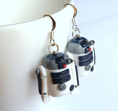 R2D2 earrings for Star Wars Day - *Inspiration*