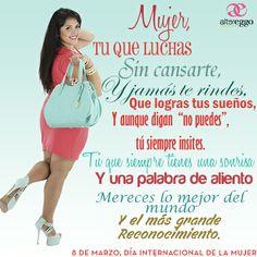 #frases #dia #internacional #de #la #mujer #8 #de #marzo #luchadoras #soñadoras #mensaje #moda