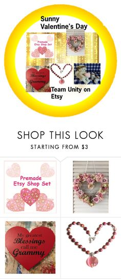 """Sunny Valentine's Day"" by hvaradhan ❤ liked on Polyvore featuring vintage, Home, jewelry, decals and valintes"