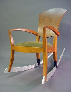 Handmade Rocking Chair by Cosmo Barbaro Furniture | CustomMade.com