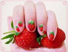 Strawberry nails ❤