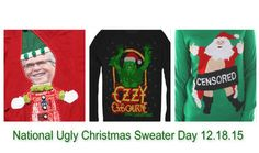 The quest to create the world's ugliest ugly Christmas sweater has reached peak ugly and shows no signs of slowing