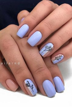 60 best natural short square nails design for summer nails - hairdressing . - 60 best natural short square nails design for summer nails – Hairdressing hairstyles … – 60 B - Cute Acrylic Nails, Cute Nails, Pretty Nails, Square Nail Designs, Short Nail Designs, Different Nail Designs, Best Nail Art Designs, Winter Nail Designs, Short Square Nails