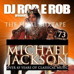 """Dedication Mix"" - Michael Jackson Mixtape Compilation CD DJ Rob E Rob"