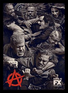 """Sons of Anarchy Season 6 Episode 6 Recap. Allison recaps Sons of Anarchy season 6 episode """"Salvage"""", starring Charlie Hunnam and Ron Perlman. Jax Teller, Tommy Flanagan, Movies And Series, Tv Series, Serie Sons Of Anarchy, Sons Of Anarchy Samcro, Sons Of Arnachy, Teaser, Kim Coates"""