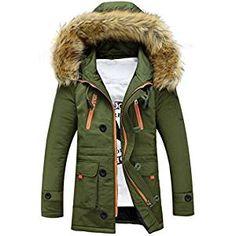 4a3763d85c8eab Men s Jacket for Unisex Women Outdoor Fur Wool Fieece Winter Long Coat