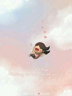 Amor. No puedo dejar de enamorarme de ti