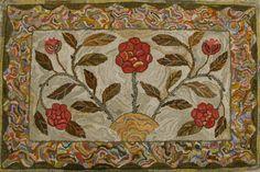 Modèle accrochage tapis de Jane Austen par primitivespirit sur Etsy