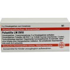 LM PULSATILLA XVIII Globuli:   Packungsinhalt: 5 g Globuli PZN: 02659944 Hersteller: DHU-Arzneimittel GmbH & Co. KG Preis: 8,10 EUR inkl.…