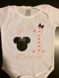Happy Birthday Minnie Mouse T shirt