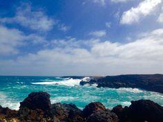 Coast near the village Mala on Lanzarote